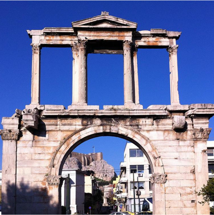 Athens Free Tour Meting Point | Hadrian's Arch